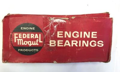 Sell Federal Mogul Engine Main Bearing Set 1952-1956 Plymouth Dodge Desoto V8, .002 motorcycle in West Newton, Massachusetts, United States, for US $175.00