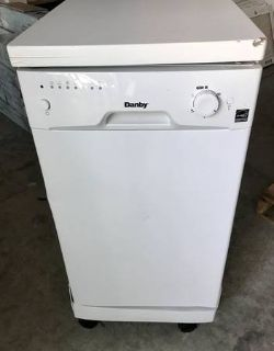 Danby DDW1801MWP Portable Dishwasher - Used - AS-IS