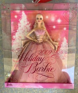 20 holiday barbies! From $10-$20.