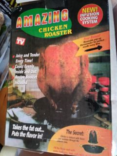 AS SEEN ON TV AMAZING CHICKEN ROASTER NEW
