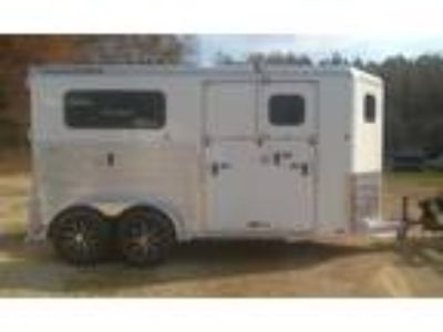 2019 Trailers USA 2H Straight Load Side Ramp All Aluminum 2 horses