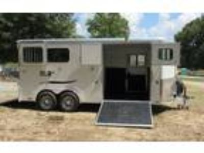 2019 Trailers USA 3 H Straight Load/Carriage Trailer with Side Ramp 3 horses