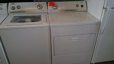 $360, whirlpool gas set washer and dryer