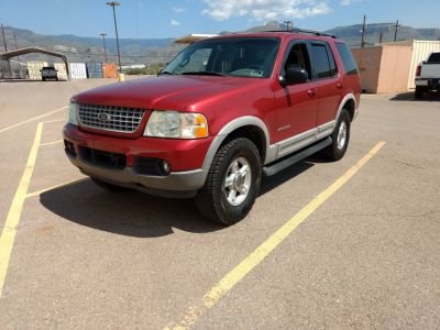 2002 explorer XLT 4 door, 4x4, 4.0L, automatic