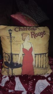 Pillow decor. 14x14 in