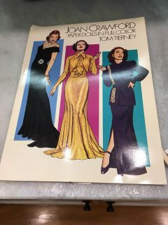 Joan Crawford Paper Dolls - these have been cut