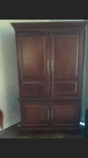 Beautiful tv armoire!