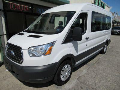 "2017 Ford Transit Wagon T-350 148"" Med Roof XL Sliding (White)"