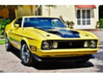 1973 Ford Mustang Mach 1 351 V8, Factory Air, Bucket Seats Amazing 1973 Ford