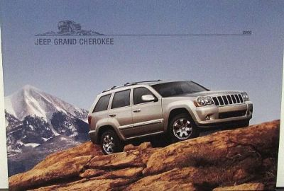 Buy 2008 Jeep Grand Cherokee Laredo Limited Overland SRT8 Original Sales Brochure motorcycle in Holts Summit, Missouri, United States, for US $17.08