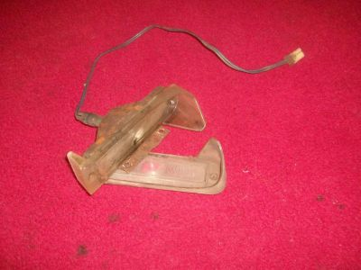 Purchase 1966 bonneville catalina turn signal blinker lights lenses motorcycle in Northwood, Ohio, US, for US $35.00