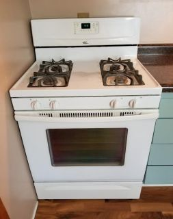 WHIRLPOOL GAS STOVE! WORKS WELL!