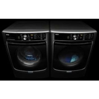 Maytag Slate Steam Front Load Washer and Dryer MHW4300DC / MED5500FC