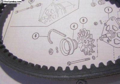 """Alternator """"V"""" Belt 1977-1989"""