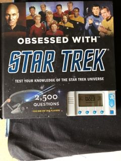 Obsessed with STAR TREK BOOK