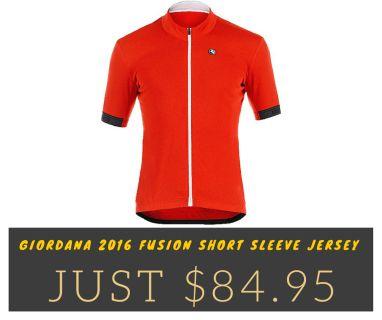 Giordana 2016 Fusion Short Sleeve Jersey
