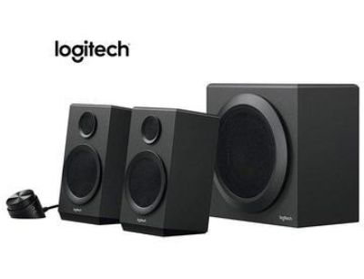 Logitech z3 3 3 speaker system with subwoofer and control pod
