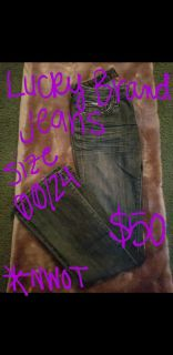 Lucky Brand Womens Jeans Size 00/24