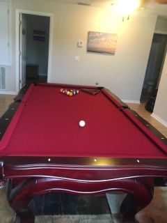 8' Custom Pool Table-FREE DELIVERY and SET-UP INCLUDED!