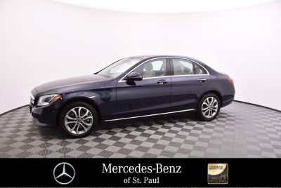 2018 Mercedes-Benz C-Class C 300 4MATIC Sedan (blue)