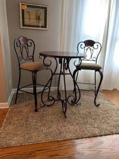 High Top Table w/ chairs