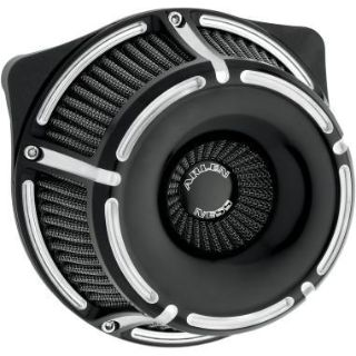 Purchase NESS INVERTED SLOT TRACK BLACK CONTRAST CUT AIR CLEANER HARLEY SPORTSTER 88-13 motorcycle in Gambrills, Maryland, US, for US $319.95