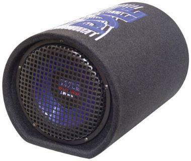 """Purchase Bass Tube 8"""" Pyle Pltb8 Woofer Boxes/tube motorcycle in Hicksville, Ohio, United States, for US $53.53"""