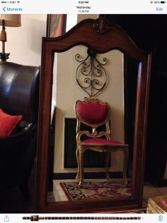 $95, Beautiful Large French Vintage Mirror