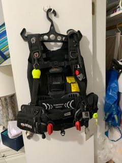 Mares dive/scuba backpack LG