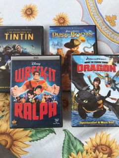 Lot of 4 DVDs