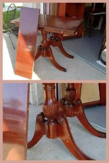 Mahogany Federal Table