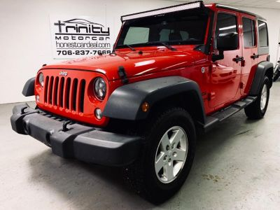 2015 Jeep Wrangler Unlimited Sport (Red)