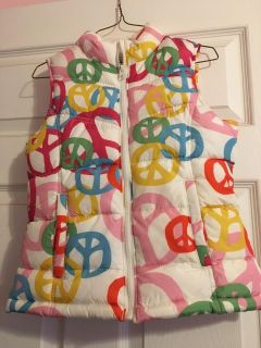 Peace Old Navy Puffer Vest