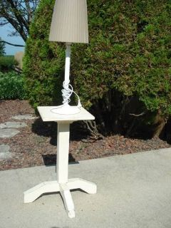 TABLE & LAMP AS SHOWN