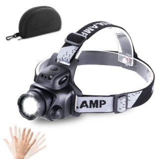 NEW Rechargable, waterproof headlamp
