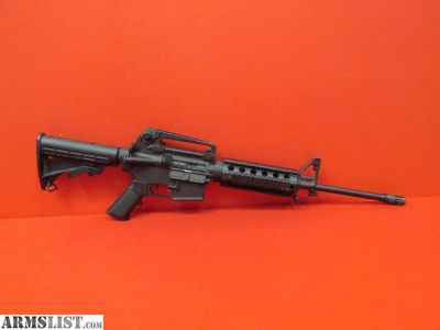 """For Sale: DPMS Panther Arms Model AR-15 5.56NATO 16"""" W/Carry Handle Sight and Quad Rail"""
