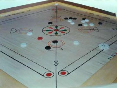 Large Carrom Board South East Asian indoor Board game
