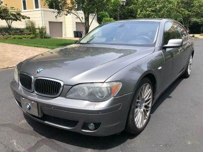 2008 BMW 7-Series 750Li (Gray)