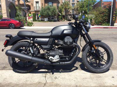 2017 Moto Guzzi V7 III Stone Standard/Naked Motorcycles Marina Del Rey, CA
