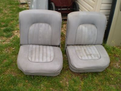 RARE ROADSTER T BUCKET STREET ROD BUCKET SEATS RAT ROD HOT ROD CAR TRUCK