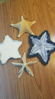 Lot of Star fish decor great condition