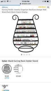 New Earring Organizer