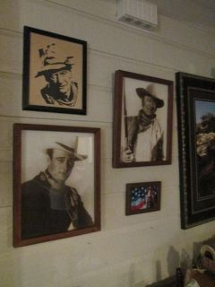 JOHN WAYNE, WESTERN AND UPSCALE..