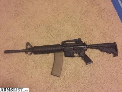 For Trade: AR15 looking to trade for Jon boat