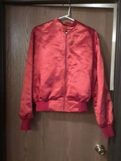 Cool shiny red jacket