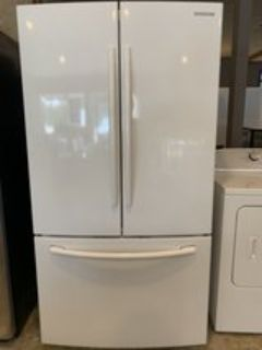 Samsung beautiful white refrigerator