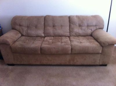 Ashley Furniture Couch and Love Seat