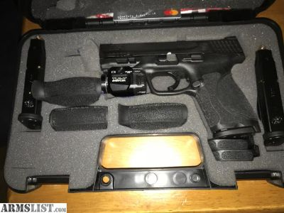For Sale: Smith and Wesson M&P 2.0 compact 9 w/TLR7 &Holster
