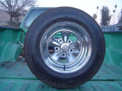 "Buy ORIGINAL 1970's ""N.O.S"" CRAGAR ""SS"" WHEEL...5.50"" PATTERN...FORD TRUCK...GASSER motorcycle in Porterville, California, United States, for US $199.00"