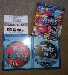 Trolls Blu-Ray/DVD Movie